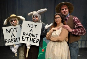 THE ADVENTURES OF PETER RABBIT