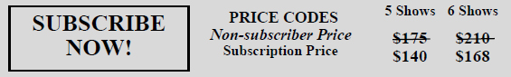 Subscription prices